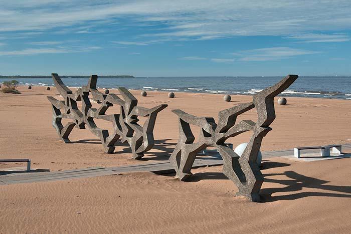 Пляж в Солнечном